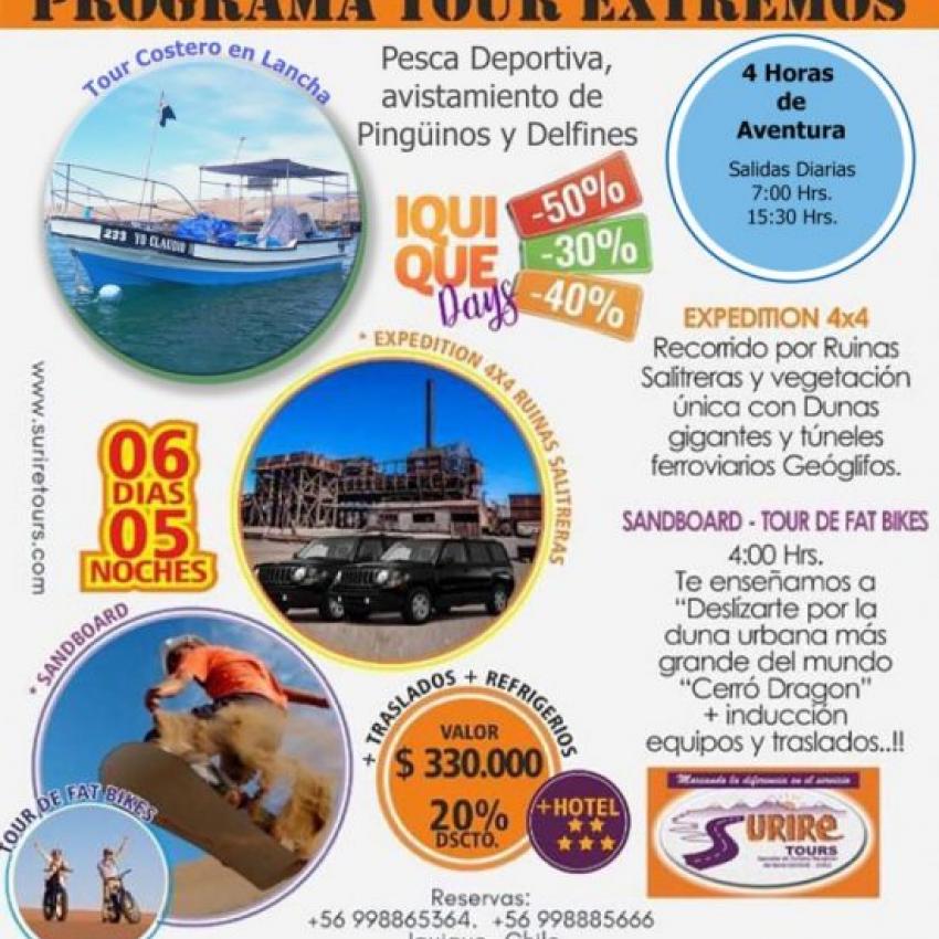 Iquique Tour Extremos
